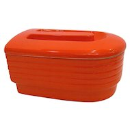 Hall China for Westinghouse Orange Refrigerator/Leftover Dish