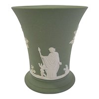 Wedgwood Sage Green Jasperware Beaker