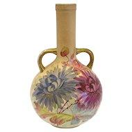 Antique Royal Denton Burslem Chrysanthemum Vase