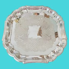 Gorham Silver Chippendale Tray