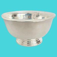 "Gorham 5"" Silver Revere Bowl with Liner Insert"