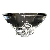 1954 Steuben Glass Spiral Bowl, Don Pollard Design