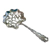 Antique Roger Williams Sterling Silver Bonbon Spoon