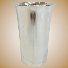Dunkirk Sterling Silver Tall Tumbler