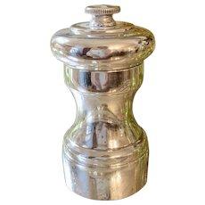 Sterling Silver Pepper Mill Grinder Peugeot Freres