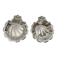Pair of Sterling Silver Butter Pats