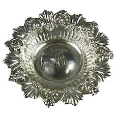 Antique Whiting Sterling Silver Bonbon or Candy Dish