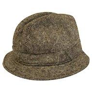 Men's Elgin Trilby Wool Tweed Hat Sz 7 1/2