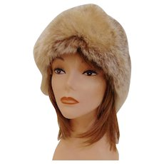 Fabulous Vintage Rabbit Fur Hat