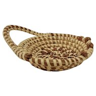 Charleston Sweetgrass Basket, Hand Made African American Folk Art