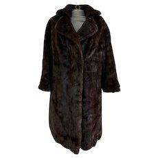 Fabulous Mahogany Mink Coat