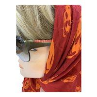 Retro Prada Sunglasses with Case