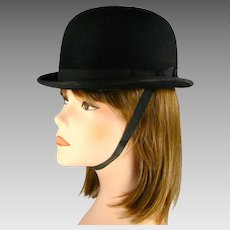 2b3cc01bfdc Poppy s Vintage Clothing.  65 USD. Miller s Boltaron Equestrian Riding or  Hunt Hat