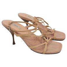 Prada Strappy Heels