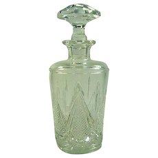 Antique Cut & Pressed Glass Cologne Scent Bottle c.1900