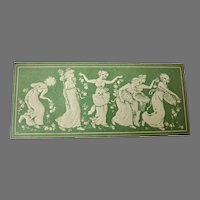 Rare KATE GREENAWAY Goodall Jubilee Embossed CARD for Fashion Doll
