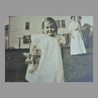 100+ Real Photos Young GIRL w Steiff Bear & Pull Horse, Bisque Doll, TOYS, BEACH, Dog, Etc.