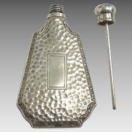 Antique STERLING 1925 Art Deco Miniature PERFUME Bottle for DOLL