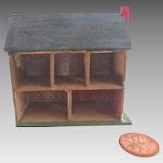 Handmade 'Miniature Dollhouse for your DOLLHOUSE' Signed by artist 1979