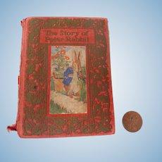 SCARCE 1911 Christmas Stocking FRANK BAUM Peter Rabbit Miniature BOOK