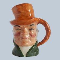 Artone Pottery Character Toby Mug Bill Sikes