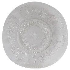 Duncan & Miller Sandwich Crystal Dinner Plate
