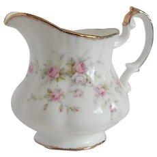 Royal Albert Paragon Victoriana Rose Creamer