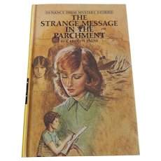 Nancy Drew The Strange Message In The Parchment
