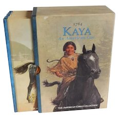Six Kaya An American Girl Books with Slipcover
