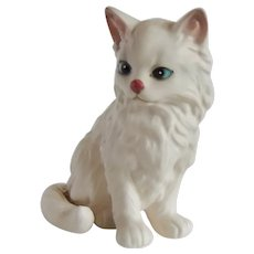 Lefton Persian Cat Figurine