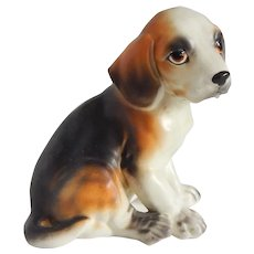 Lefton Beagle Puppy Dog Figurine