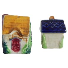 Japan Cottages Salt & Pepper Shakers