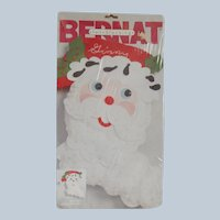 Bernat Jolly Santa Felt Stocking Kit