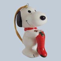 Peanuts Snoopy Christmas Tree Ornament
