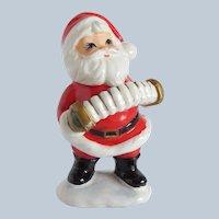 Frankel Ceramic Santa Claus Figurine Accordion