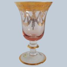 Arte Italica Medici Rose Pink Goblet