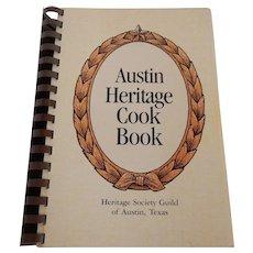 Austin Heritage Cook Book 1982