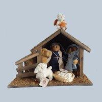 Boyds Bears Plush Nativity Scene