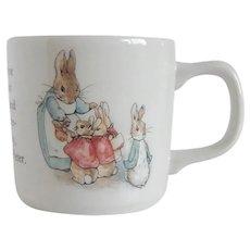 Beatrix Potter Wedgwood Peter Rabbit Mug