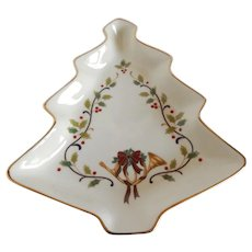 Mikasa Holiday Elegance Christmas Candy Dish