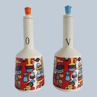 Norleans Oil And Vinegar Set
