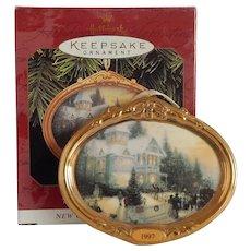 Hallmark Victorian Christmas Thomas Kinkade Ornament