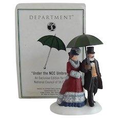 Department 56 Under the NCC Umbrella Figurine