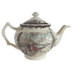 Johnson Bros. Friendly Village Teapot