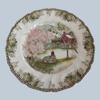 Large Johnson Bros. Friendly Village Dinner Plate