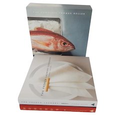 The Complete Thomas Keller The French Laundry Cookbook and Bouchon