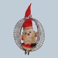 Vintage Santa Claus Christmas Ornament