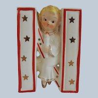 Saji Noel Angel N Candle Holder Figurine