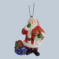 Eckerd Holiday Classic Checking It Twice Christmas Ornament