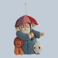 Eddie Walker Noah Christmas Ornament